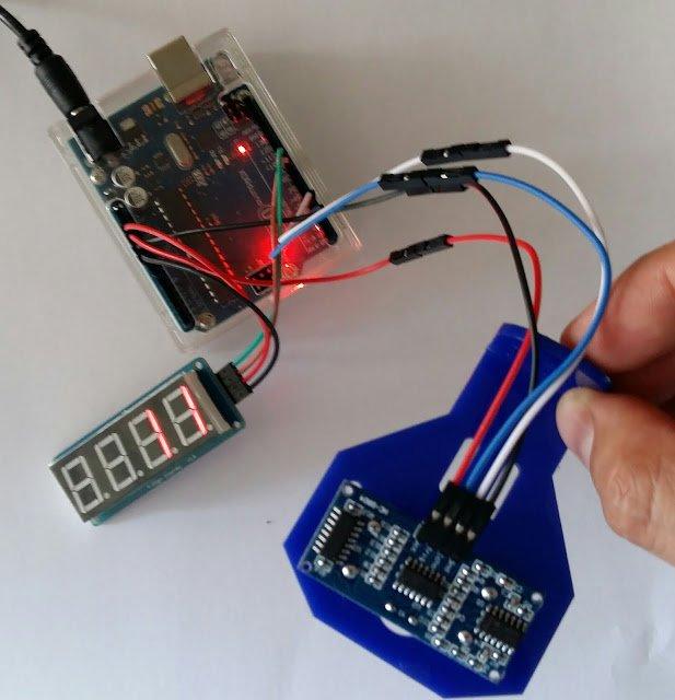 Como crear un medidor de distancia y mostrarlo en un display con Arduino