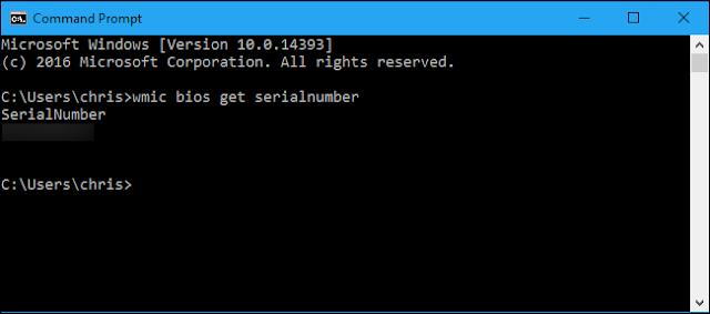 Como obtener el serial de tu computadora desde Windows y Linux